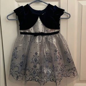 Formal toddler girl dress.